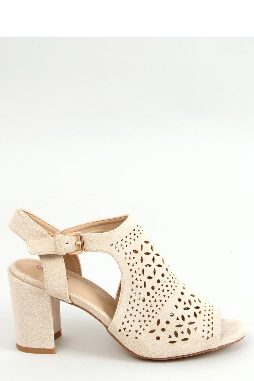 Sandály na podpatku  model 156039 Inello