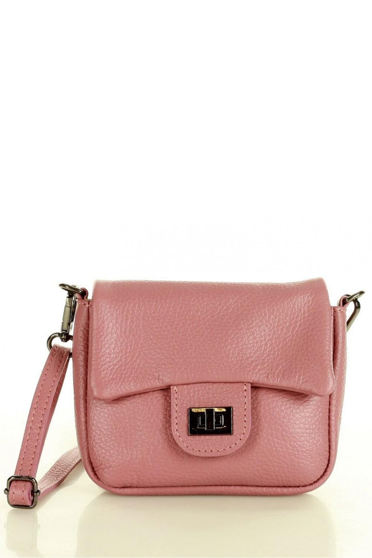 Přírodní kožená taška model 157110 Mazzini