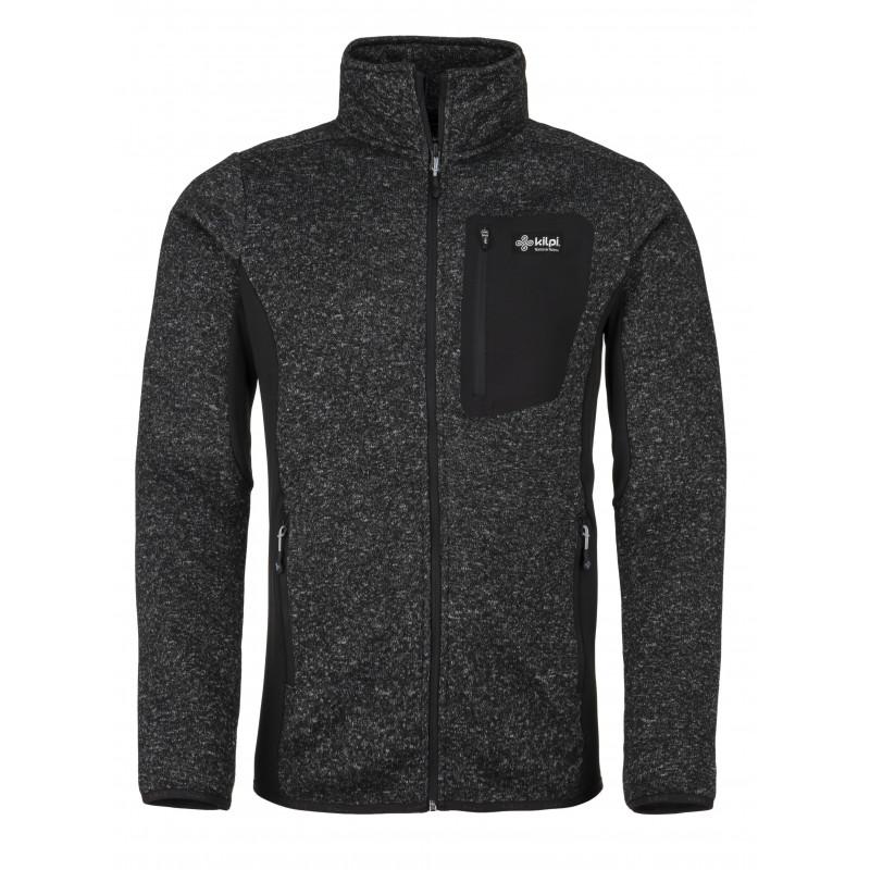 Pánský fleece svetr Rigan-m tmavě šedá - Kilpi