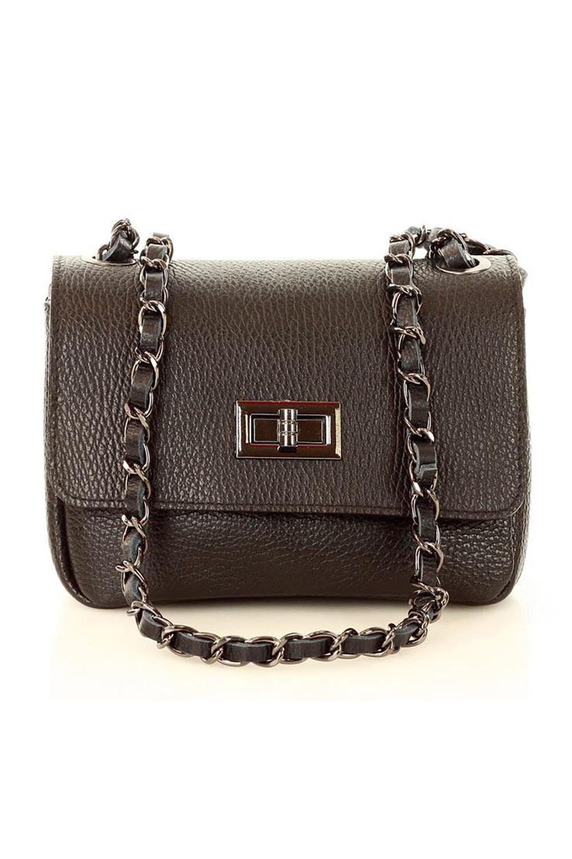 Přírodní kožená taška model 117898 Mazzini