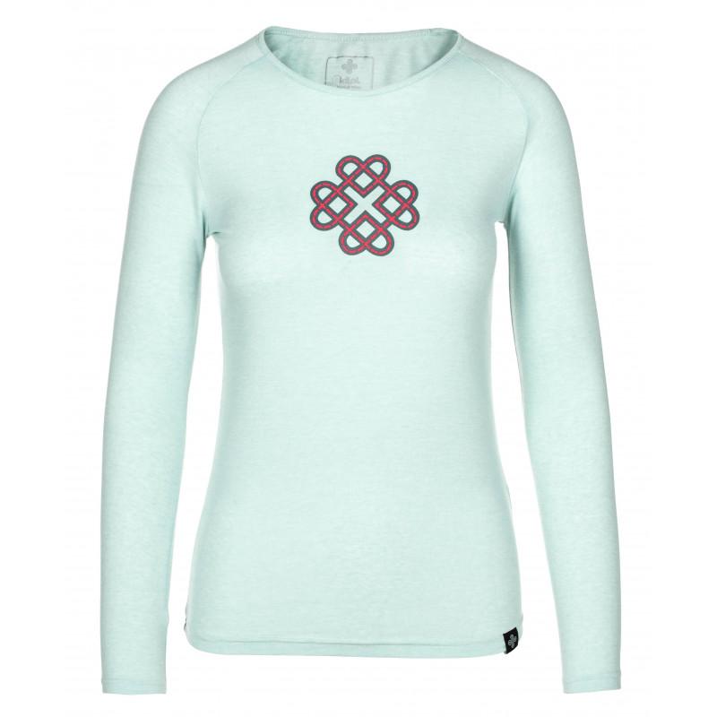 Dámské bavlněné tričko Gaia-w světle modrá - Kilpi