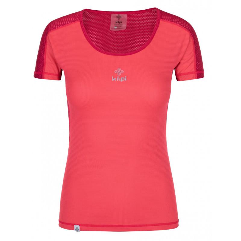 Dámské běžecké tričko Coolerka-w růžová - Kilpi