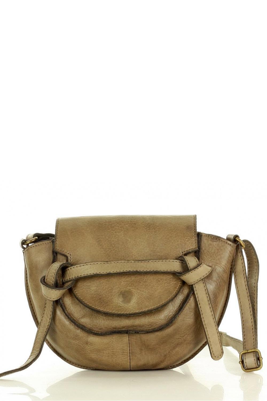 Přírodní kožená taška model 154354 Mazzini