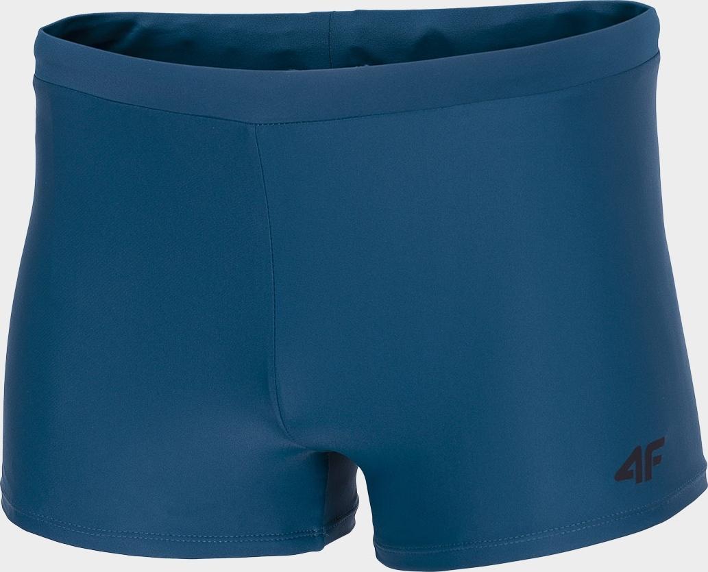 Pánské nohavičkové plavky 4F MAJM300 Zelené mořské