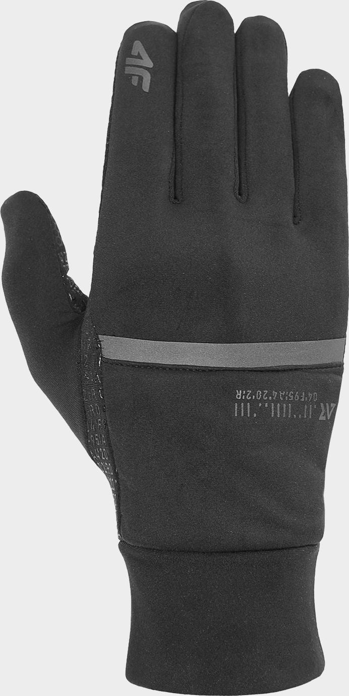 Běžecké rukavice 4F REU101 Černé
