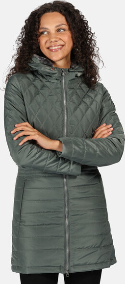 Dámský kabát Regatta RWN157 Parmenia Světle zelený