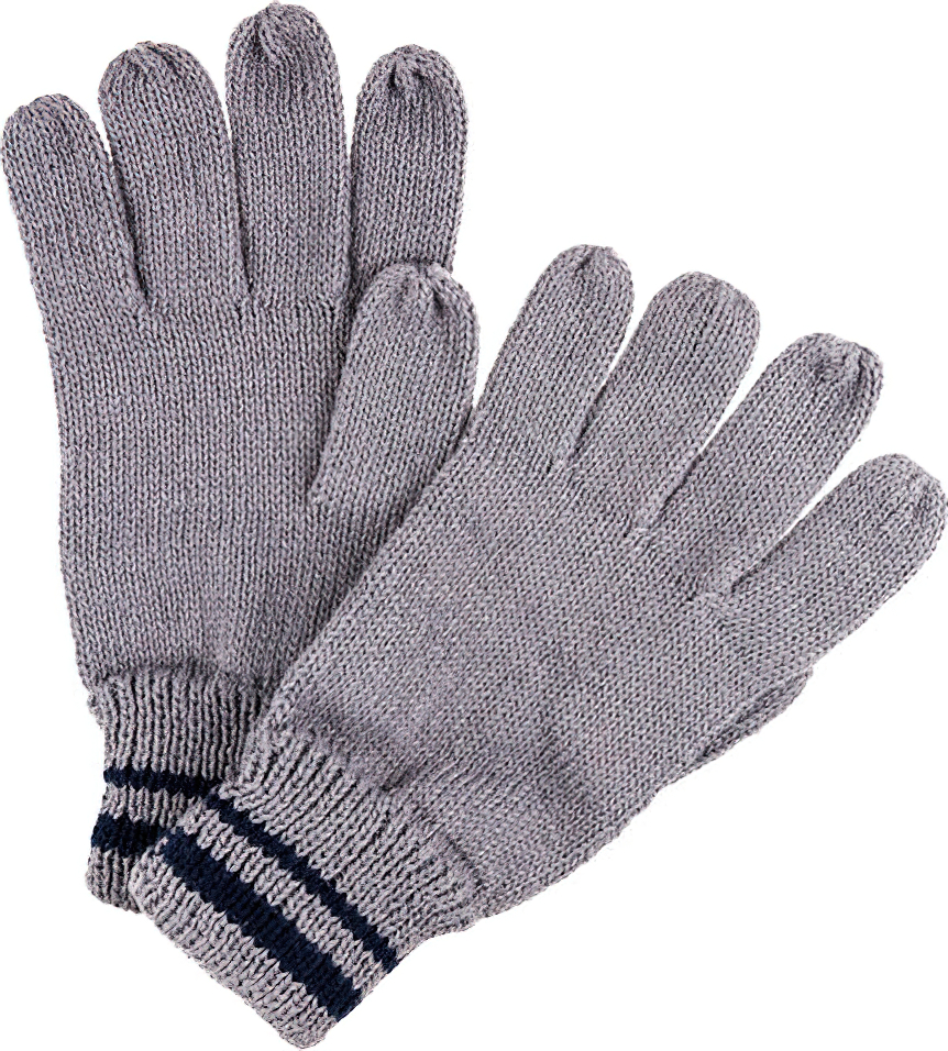 Pánské rukavice Regatta RMG028 Balton Glove II Šedé