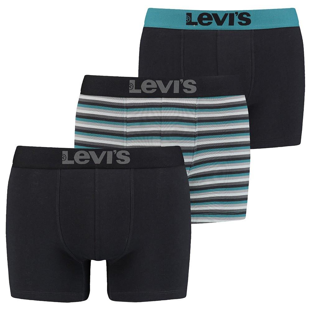 3PACK pánské boxerky Levis vícebarevné (701203920 001)