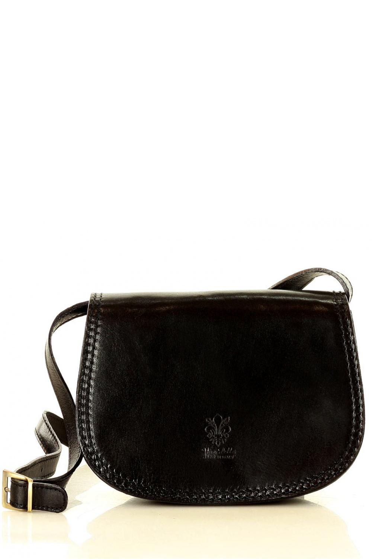 Přírodní kožená taška model 139481 Mazzini