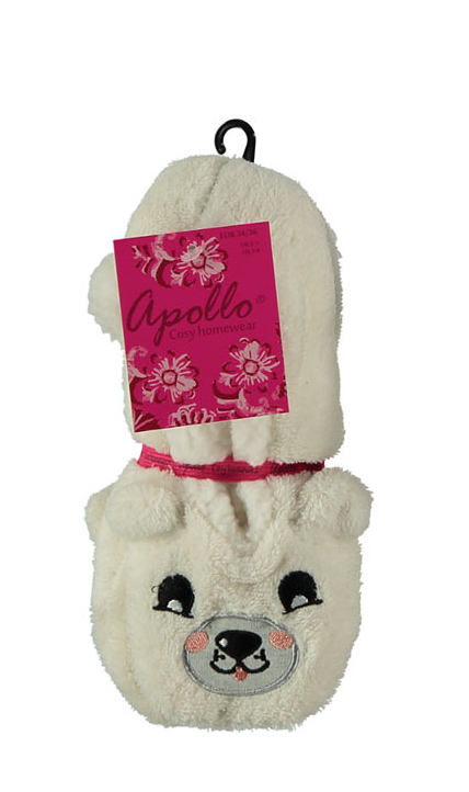 Papuče baleríny RiSocks Apollo art.33391 North Pole 3D Animals