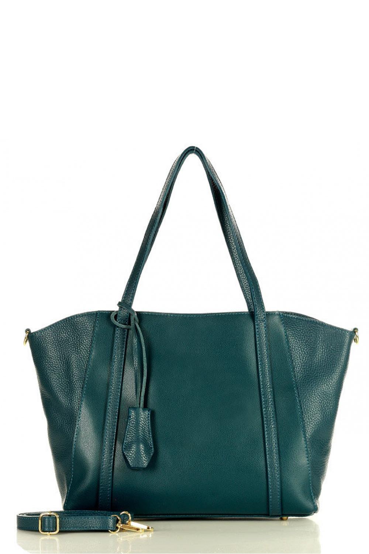 Přírodní kožená taška model 157865 Mazzini