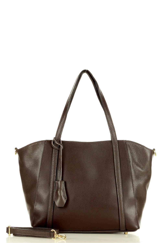 Přírodní kožená taška model 157866 Mazzini
