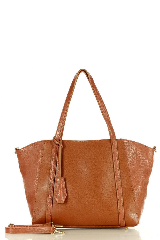 Přírodní kožená taška model 157867 Mazzini