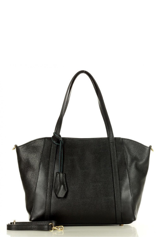 Přírodní kožená taška model 157868 Mazzini