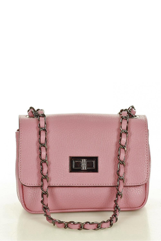 Přírodní kožená taška model 157885 Mazzini
