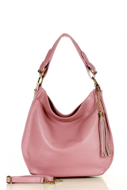 Přírodní kožená taška model 157872 Mazzini