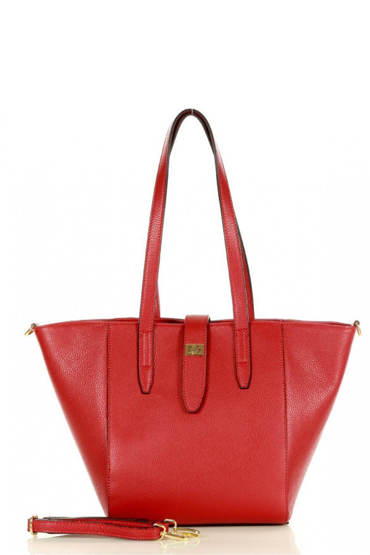 Přírodní kožená taška model 157875 Mazzini