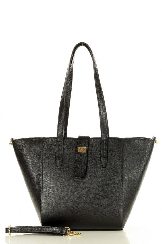 Přírodní kožená taška model 157878 Mazzini