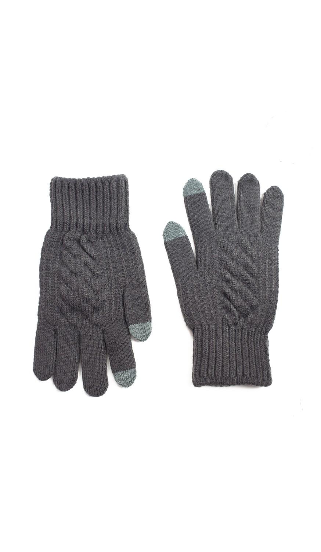 Pánské rukavice Art 20314 Minimalistický vzor