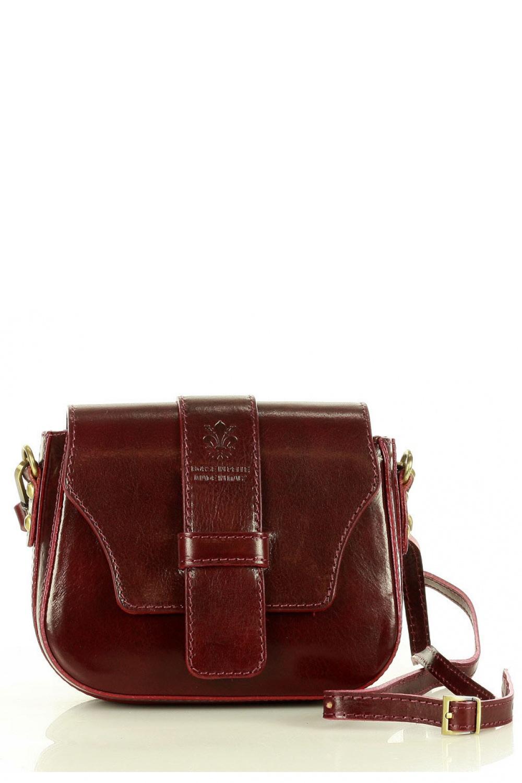 Přírodní kožená taška model 157946 Mazzini