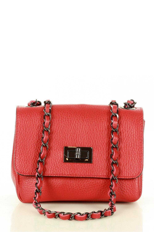 Přírodní kožená taška model 157884 Mazzini