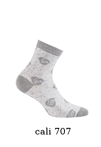 Dámské vzorované ponožky Gatta Cottoline G 84.01N