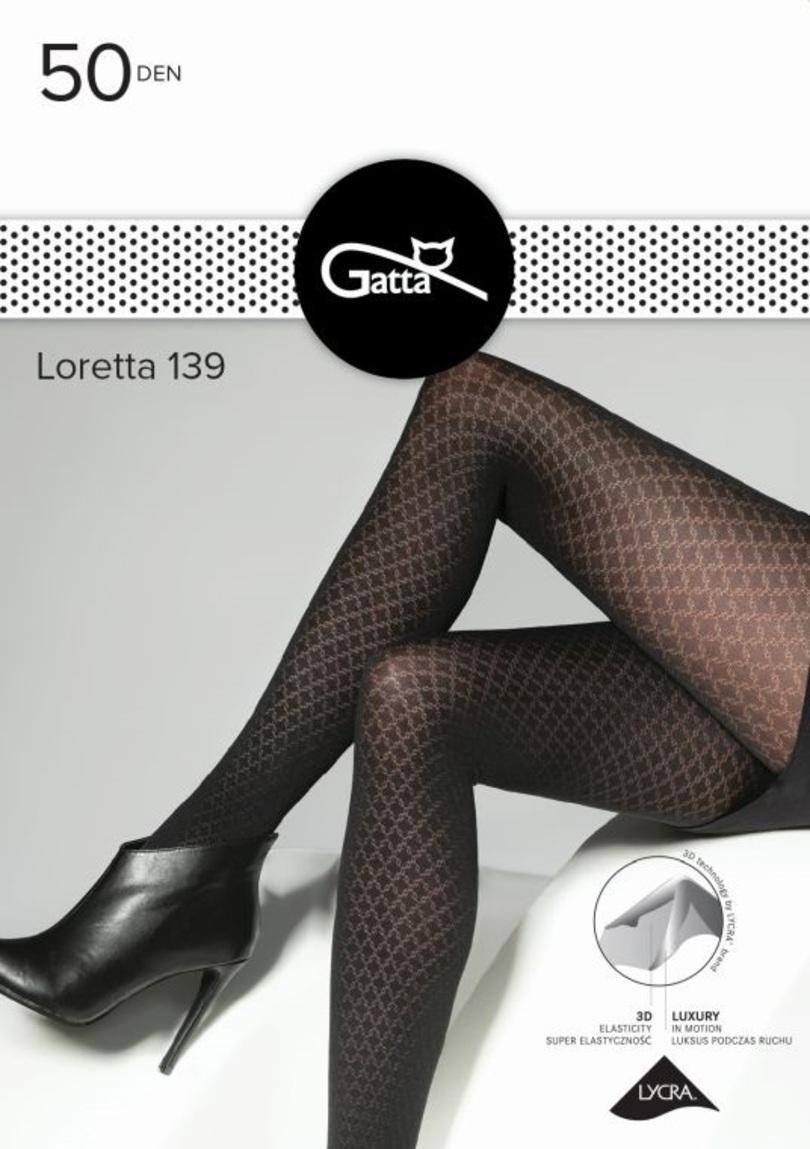 Dámské punčochové kalhoty LORETTA - Mikrovlákno 139-5