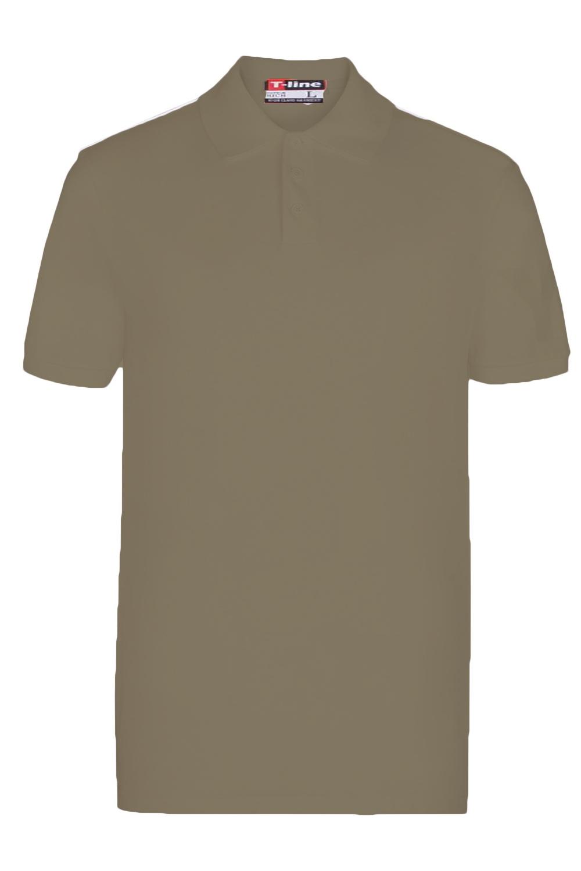 Pánské tričko 19406 olive - HENDERSON
