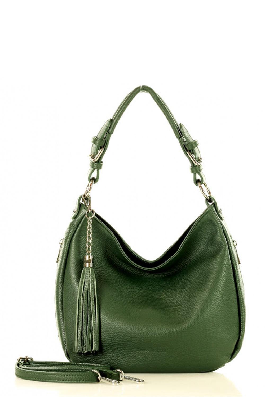 Přírodní kožená taška model 136453 Mazzini