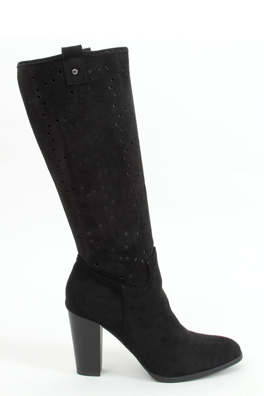 Kozačky na podpatku  model 157956 Inello
