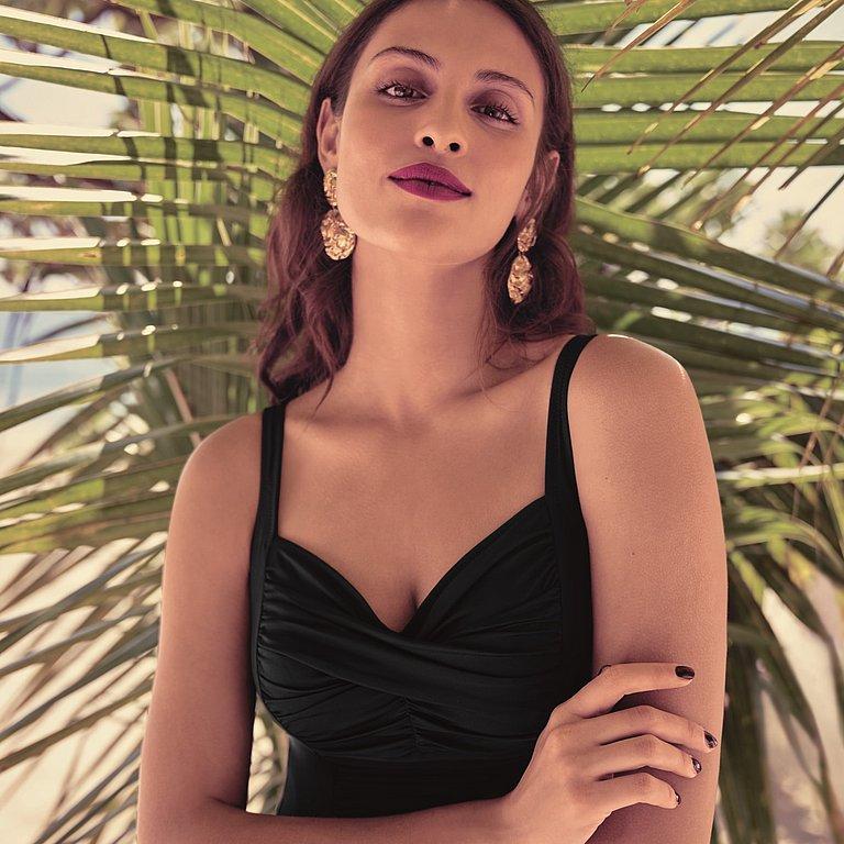 Style Michelle jednodílné plavky 001 černá - Anita Classix