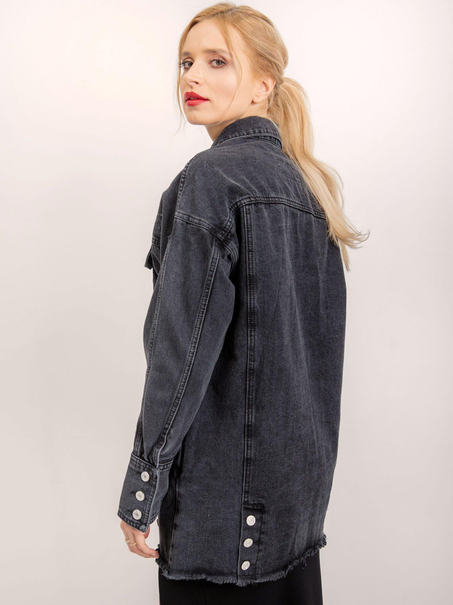 Černá riflová bunda od BSL