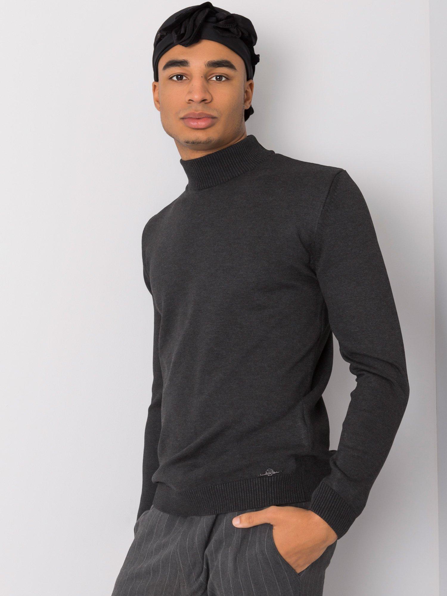 Grafitový svetr pro muže LIWALI