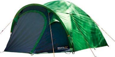 Campingový stan Regatta RCE164 KIVU 3v2 Zelená
