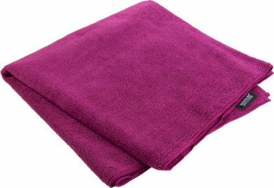 Outdoorový ručník REGATTA RCE136 Travel Towel Lrg Fialový