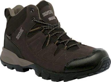 Pánská outdoorová obuv REGATTA RMF459  Holcombe Mid Hnědé