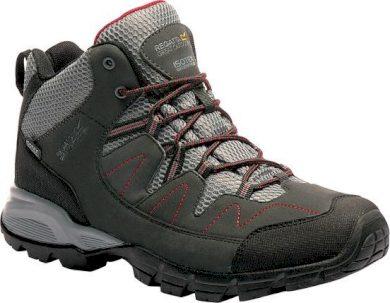 Pánská outdoorová obuv REGATTA RMF459 Holcombe Mid Šedé