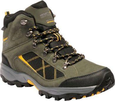 Pánské vysoké trekové boty REGATTA RMF485 Clydebank Khaki