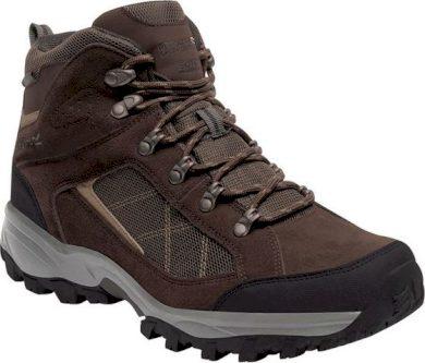 Pánské vysoké trekové boty REGATTA RMF485  Clydebank Hnědé