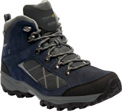 Pánská treková obuv REGATTA RMF485 Clydebank Modré