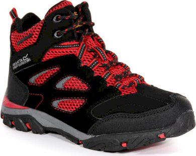 Dětská trekingová obuv REGATTA RKF573 Holcombe IEP Jnr Černé