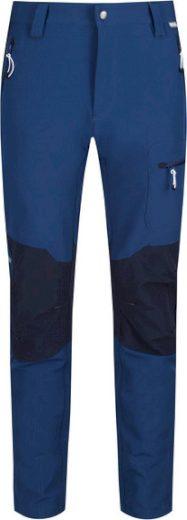 Pánské outdoorové kalhoty Regatta RMJ225R Questra II Tmavě modrá