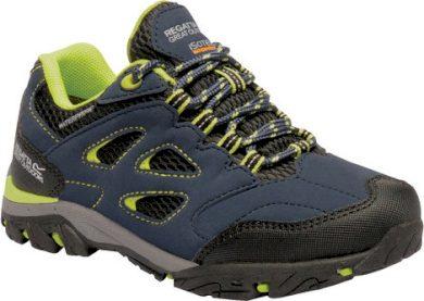 Dětská trekingová obuv REGATTA RKF572 Holcombe Low Jnr II Modrá
