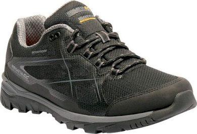 Pánská treková obuv REGATTA RMF489 Kota Low Černá