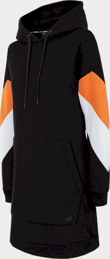 Dámské bavlněné šaty 4F SUDD224 Černé
