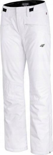 Dámské lyžařské kalhoty 4F SPDN004 Bílé