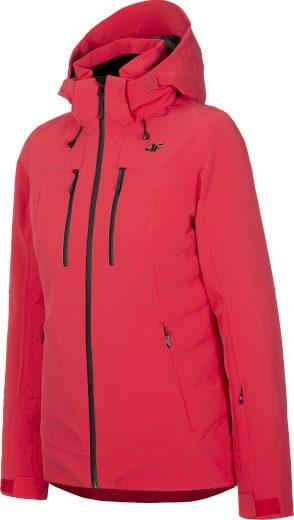 Dámská lyžařská bunda 4F KUDN071 Červená