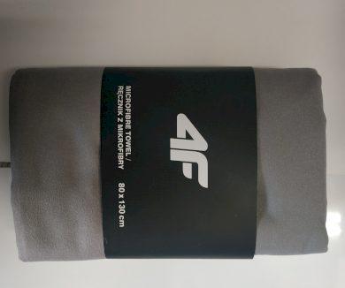 Sportovní ručník 4F RECU200B Šedý