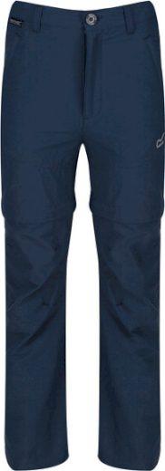 Dětské odepínací kalhoty RKJ097 REGATTA Hikefell Modré