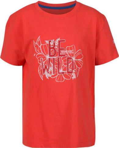 Dětské tričko REGATTA RKT106 Bosley III Oranžové